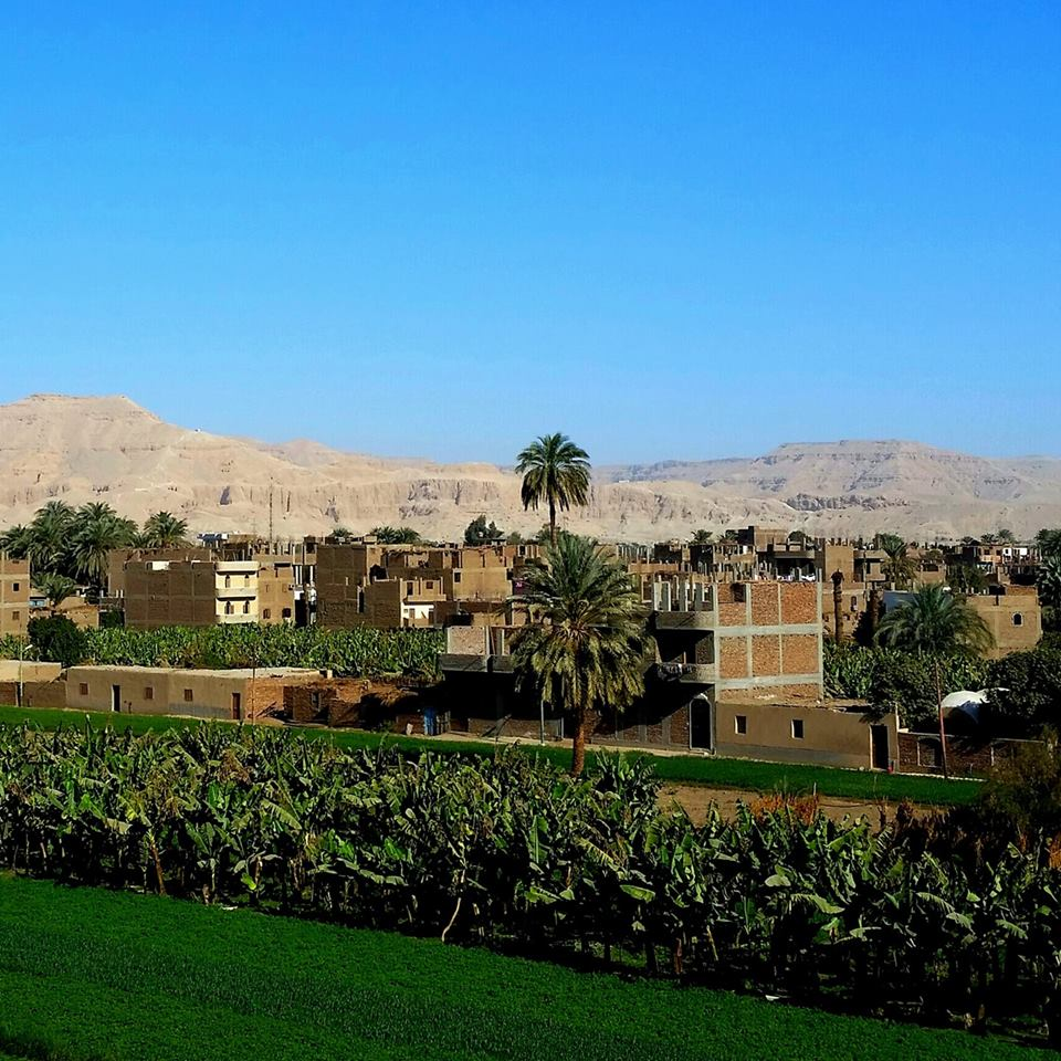 Luxor view Valley of the Kings